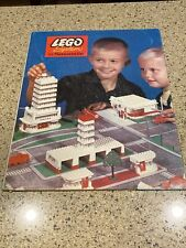 Vintage 1960's Rare Lego System by Samsonite 725 Town Plan Layout Board Sign