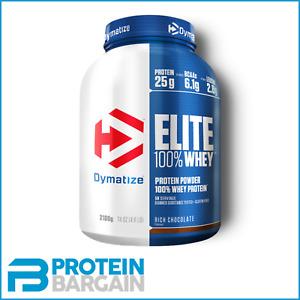 Dymatize Elite Whey - 100% Whey Protein 907g / 2.1kg - Amazing Whey Protein