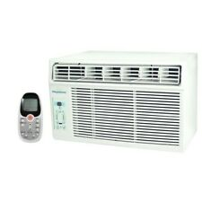 Window Air Conditioner 6000 BTU 115 Volt 3 Speed LCD Remote Control AC Mount A/C