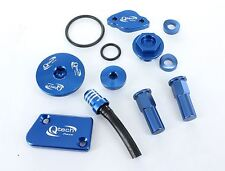 Yamaha YZ 450F YZ450F BLING Trick KIT Oil Engine Brake Cover Plug Hose Rim Lock