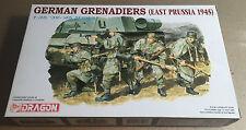 DRAGON 6057 - 1/35 - GERMAN GRENADIERS (EAST PRUSSIA 1945) - NUOVO