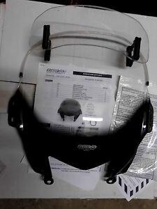 Suzuki GSF650S MRA-Windschild mit Spoiler und  Anbauanleitung Klar