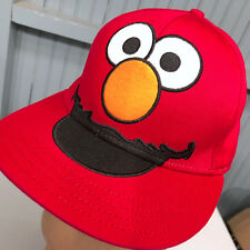 Elmo Sesame Street Large / XL Adult Fitted Baseball Hat Cap