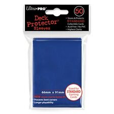 ULTRA PRO 50CT BLUE STANDARD DECK PROTECTOR SLEEVES #82670 NEW