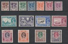 Burma 1946 George VI Complete set SG 51-63 Mint.