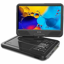 """WONNIE 2019 Upgrade 12.5"""" Portable DVD Player with 10.5 inches 270° Swivel"""