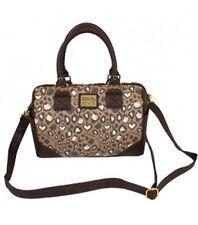 NWT Loungefly Hello Kitty Pale Chocolate Mini Leopard Crossbody Bag