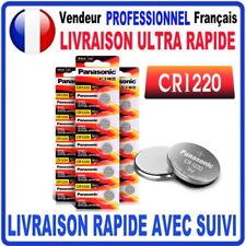 Pile CR1220 Lithium 3V PANASONIC Pile bouton  QUALITÉ PREMIUM