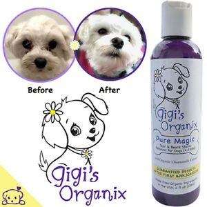 """Gigi's Organix """"Pure Magic"""" Tear Stains Remover for Small Dogs 4oz"""