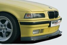 Rieger Frontspoilerlippe Carbon-Look für BMW 3er E36 Lim./Touring/Coupe/Cabrio
