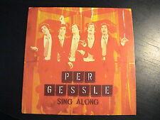 Roxette PER GESSLE - SING ALONG European 3-trk CD Single RED Cardboard PS