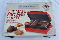 NEW IN BOX ULTIMATE BROWNIE MAKER BY WITH INSTRUCTION GUIDE & RECIPES!