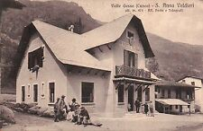 VALLE GESSO ( CUNEO ) S. ANNA VALDIERI RR. POSTE E TELEGRAFI 1933  SUPER! C4-826