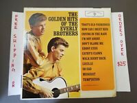 """THE GOLDEN HITS OF THE EVERLY BROTHERS GREATEST 1962 MONO LP """"CATHY'S CLOWN"""""""