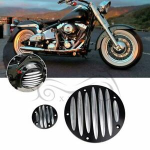 CNC Derby Cover Timing Timer Cover For Harley Dyna Softail Street Tri Glide FLHX