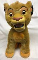 "Vintage Disneyland Lion King Simba Plush Rubber Face Large 16"" Stuffed"
