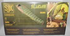 Slumberjack Lapland 40 Degrees F Sleeping Bag - Dual Zippers-w/Storage Sack-NIB