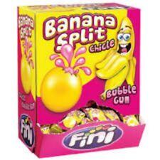 Confezione 200pz chewingum gomma da masticare BANANA SPLIT GR. 5