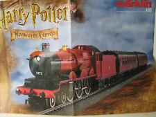 Harry Potter Hogwarts Express - Poster Märklin 29550 DIN A2