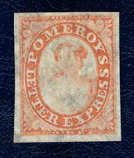 [sto561] 1844 Scott#117L5 Pomeroy's Red 4 Margins mint no gum