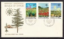 Cyprus 1970 Landscapes with Flowers  First Day Cover
