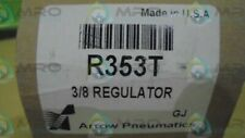 Arrow Pneumatics R353T 3/8 Regulator * New In Box *