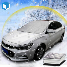Rain Frost,Wind,Dust Snow Sun InGroWan Car Windscreen Snow Cover Waterproof Windshield Cover with Rearview Mirror Covers /& Hooks,for Ice