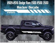 2009-2016 Dodge Ram Rocker Stripe Vinyl Decal Graphic Racing 1500 2500 3500 Hemi