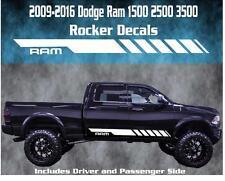 2009-2016 Dodge Ram Rocker Stripe Vinyl Decal Graphic Racing 1500 2500 3500 Hemi