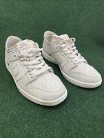 VNDS Nike Sb Zoom Dunk Low Pro Decon Light Bone Shoes Mens Sz 12 AA4275-001