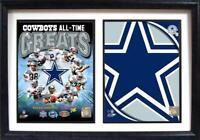 Dallas Cowboys Holz Doppel Wandbild 50 cm,Plaque NFL Football ,Neu