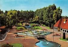 Belgium De Panne Meli Park, Parc Panoramic view Fountains Promenade