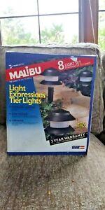 New vtg  1993 Malibu 8 pathway Light Expressions Tier Lights  Set  154LV13404