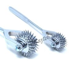 Diagnostic Neurological Sensory Wartenberg Pinwheel Pin Wheel 5 Spur Head Wheel