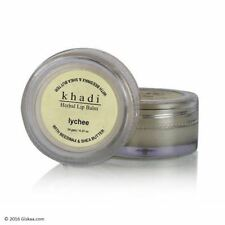 Khadi Natural Herbal Lip Balm (Lychee Flavour) With Beeswax & Shea Butter 10g