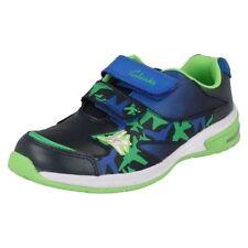 Chaussures bleues en cuir pour garçon de 2 à 16 ans pointure 26