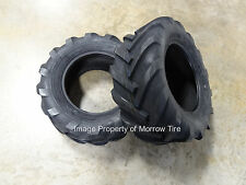 TWO New Deestone 23X10.50-12 Tractor Lug  Tires 6 ply with Free Stems READ!