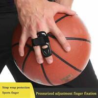 Doigt protecteur de soutien de douille de doigt de sport noir Attelle Attelle