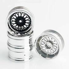 RC 1:10th On-Road Drift Car Plating Wheel Rim Offset 9mm 4Pcs For HSP HPI 2083