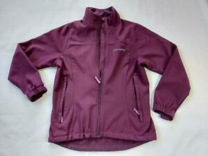 Women Sprayway Ladies Sport Jacket Long Sleeves Zip Polyester Purple Size UK 10