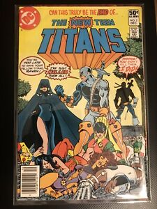 The New Teen Titans 2 VF/NM 1980 DC Comics First Appearance Of Death stroke