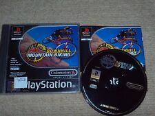 No Fear Downhill Mountain Biking  - Rare Sony PS1 Game