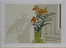 """""""Lilies,"""" Serigraph by Naomi Lewis"""