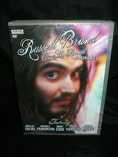 RUSSELL BRAND - 'ON THE RECORD' - UNCENSORED DVD NEW BUY NOW £1.69 FREE UK P&P