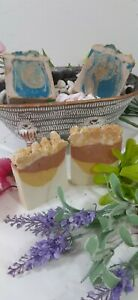 Tropical scented large 4 soap bars