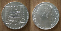 France 10 Francs 1933 Silver Coin Turin Free Shipping Worldwide
