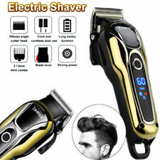 Electric Hair Cutting Trimmer Clipper Men's Shaver Barber Haircut LCD Machine US