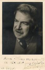 Artur SCHNABEL (Pianist): Signed Photograph