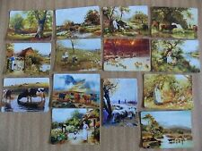 Swap playing cards    14  Modern Wides   Rural Scenes