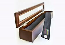 Belt Wooden Gift Box Kampfsportürtel Wooden Box Budo Karate Taekwondo Youth
